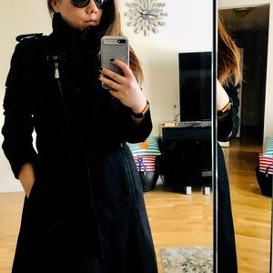 Deal❗️🛍Vince Camuto Asymmetric Wool Trench Coat🎀